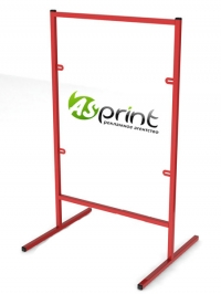 Штендер металический 90 см x 60 см + двухсторонний баннер